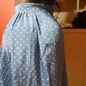 Patty Woodard Skirts - 🔥FINAL PRICE🔥 💙Sky Blue Skirt